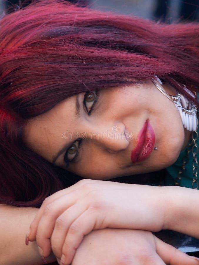 Transgender portrait stock photography