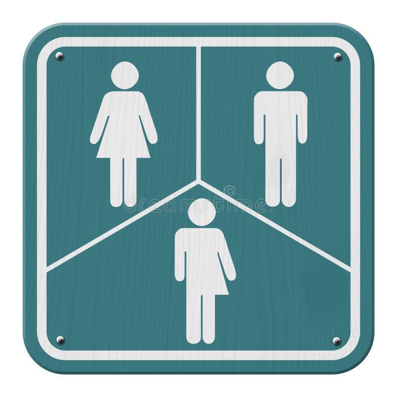 Transgender Sign royalty free illustration