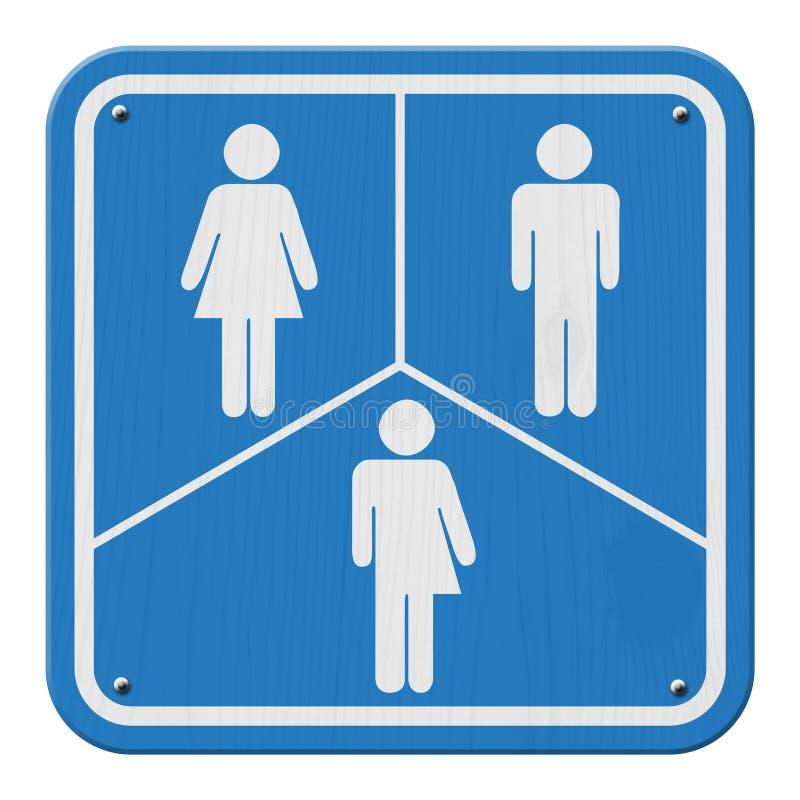 Transgender-Zeichen stock abbildung