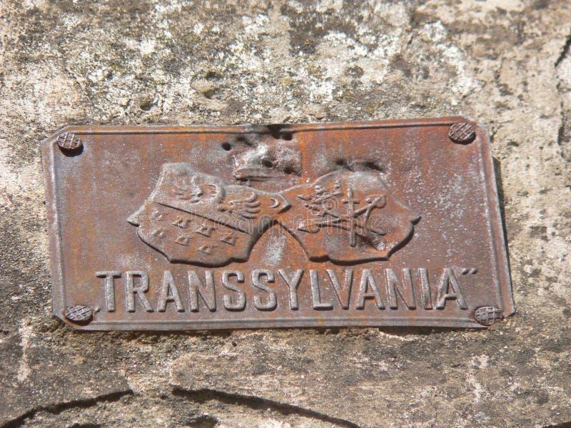 Transilvania, Rumunia - podróż i turystyka Dracula - otręby kasztel fotografia royalty free