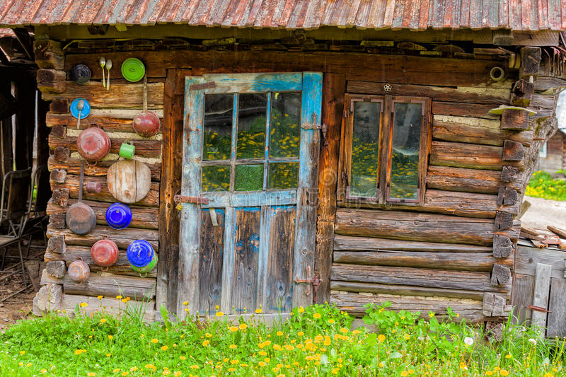 Transilvanian Old House Entrance royalty free stock photography
