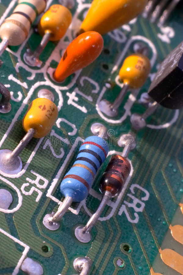 Transistor 2 fotografia de stock royalty free