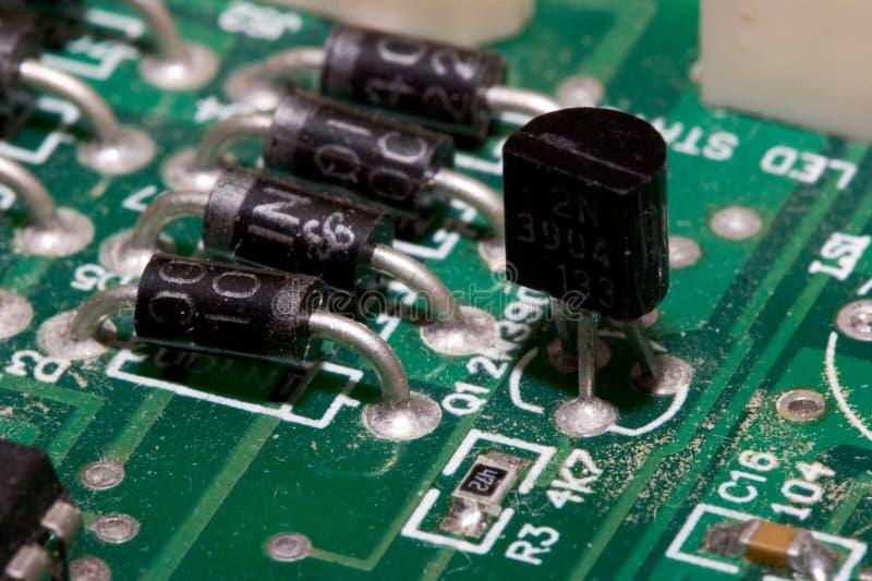 Transistor stock afbeelding
