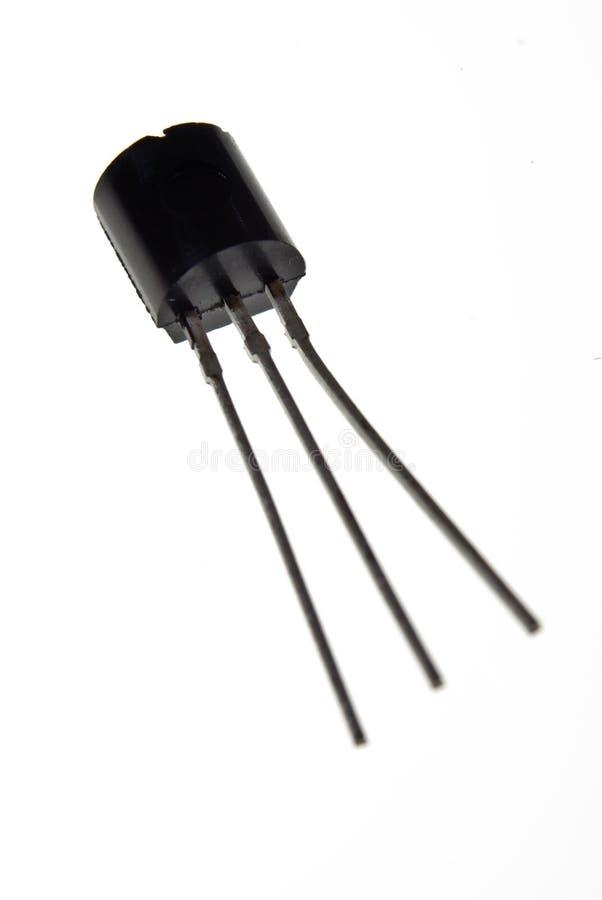 Transistor no plástico foto de stock royalty free