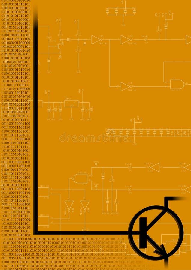 Transistore illustrazione di stock