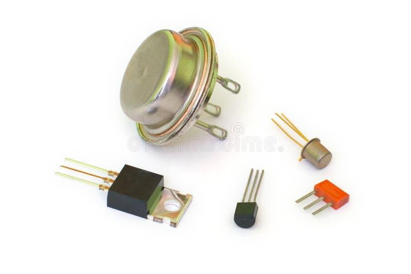 transistorer royaltyfria foton