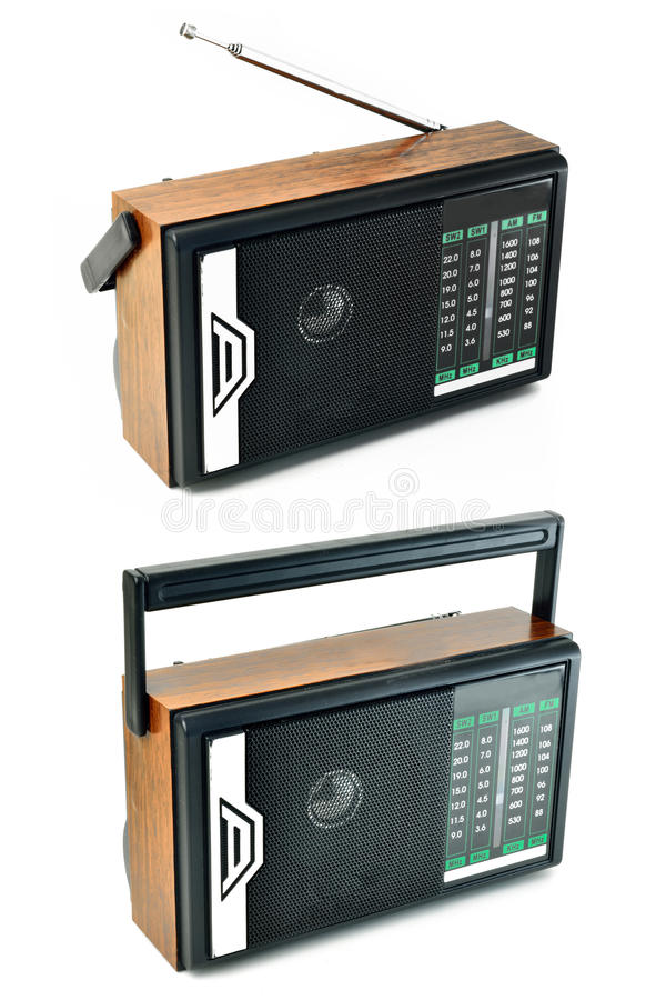 Transistorradio Stock Afbeelding