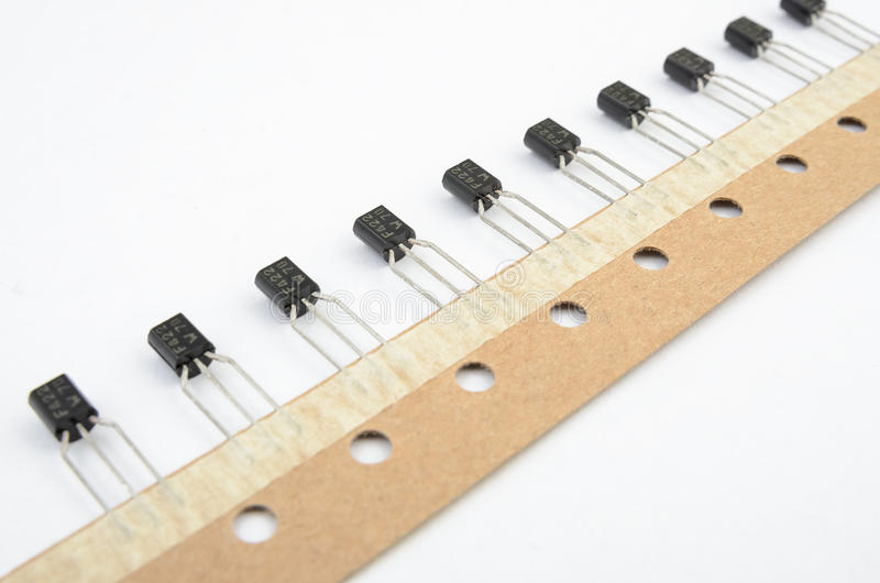 Transistors Stripe Stock Photo