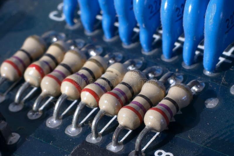 Download Transistors1 stock photo. Image of circuitboard, macro, cream - 70536