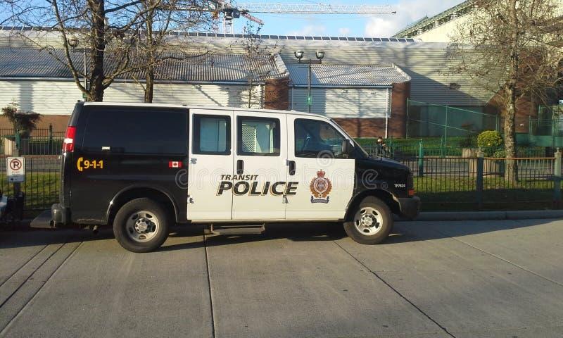 Transit Police Van. Metro Vancouver Transit Police royalty free stock photos