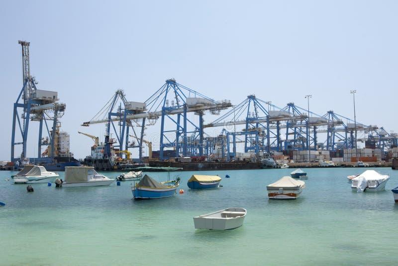Download Transit port stock photo. Image of ship, cranes, freeport - 25679046