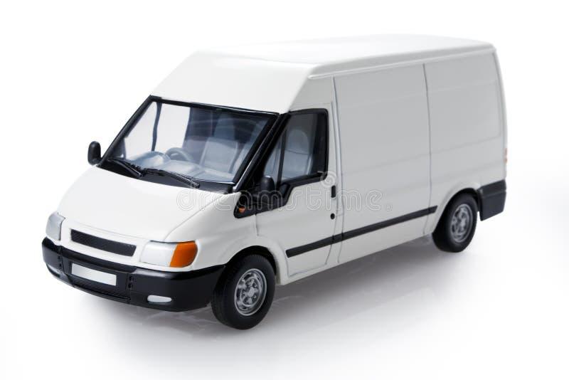 Transit van three-quarter view