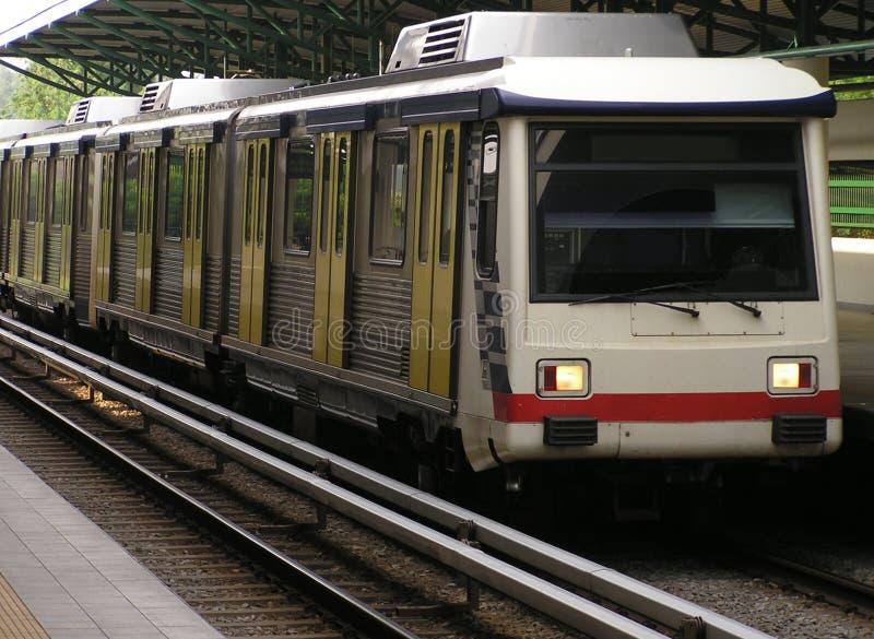 Transite por o trem foto de stock
