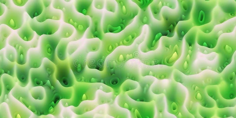 Transitoires cireuses douces comme la cire fondue ou le surfac de corail ou organique illustration libre de droits