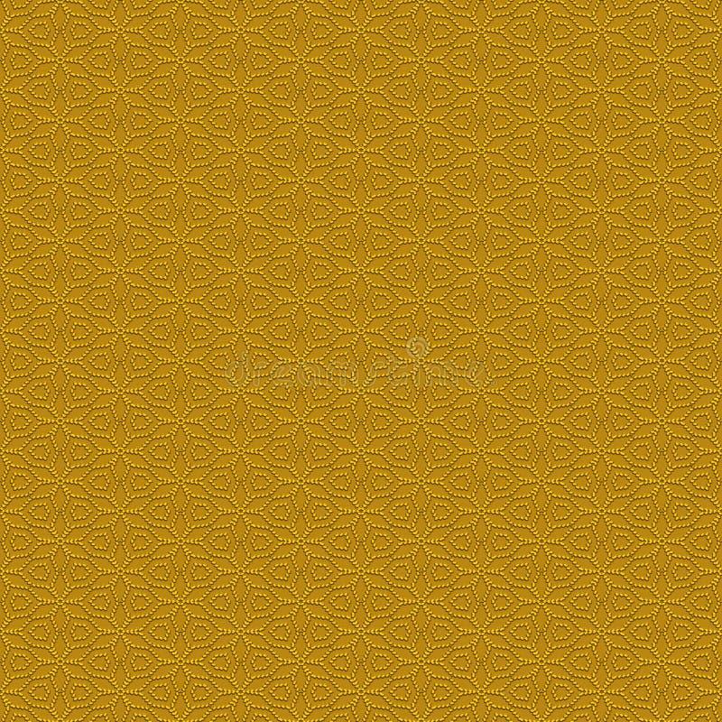 transitoires sans joint de configuration d'or illustration de vecteur