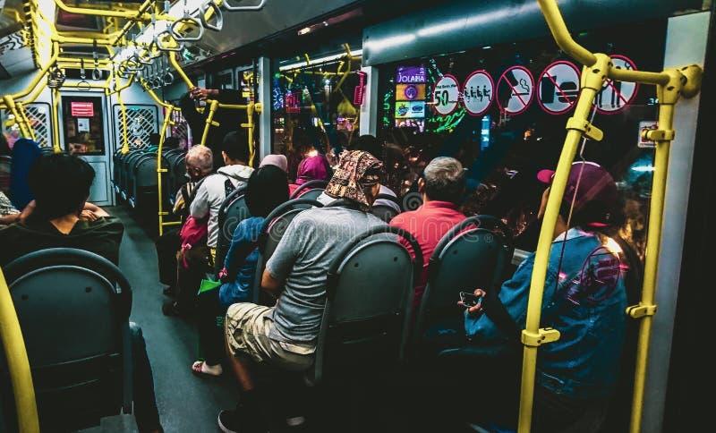 Transjakarta Indonezja zdjęcia stock