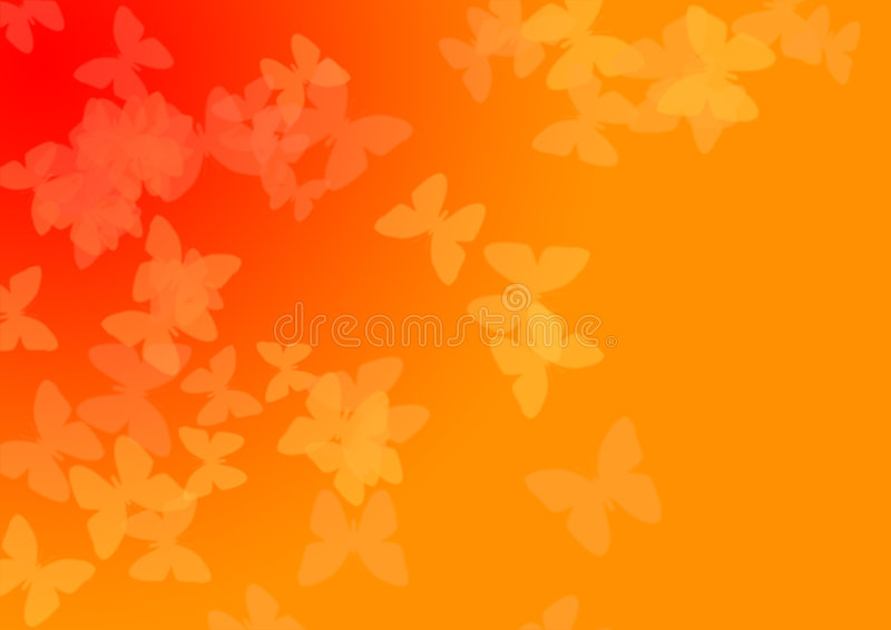 Download Translucent Butterflyes stock illustration. Illustration of warm - 502386