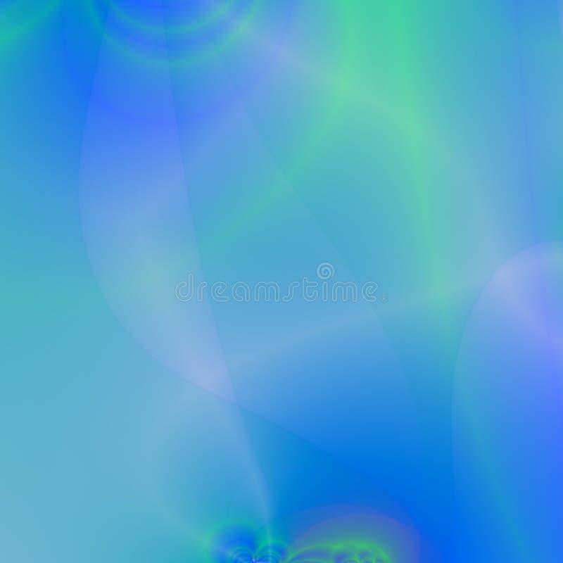 Transluscent Blue Background royalty free illustration
