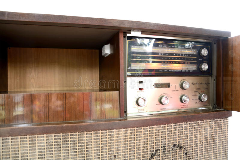 Transmet par radio le classique d'art photo stock