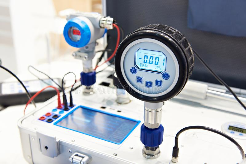 Transmisor de presión estándar foto de archivo