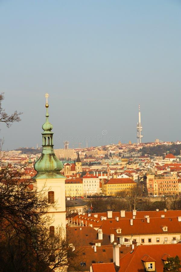 Transmisor de Zizkov foto de archivo