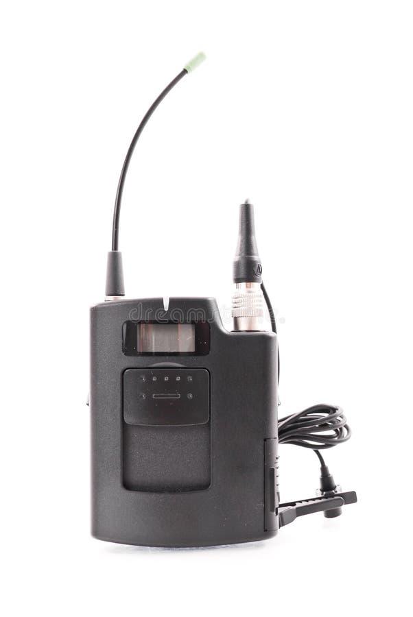 Transmisor del micrófono imagen de archivo libre de regalías