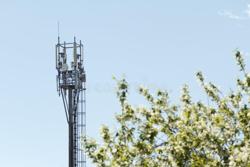Transmisor del teléfono móvil imagen de archivo