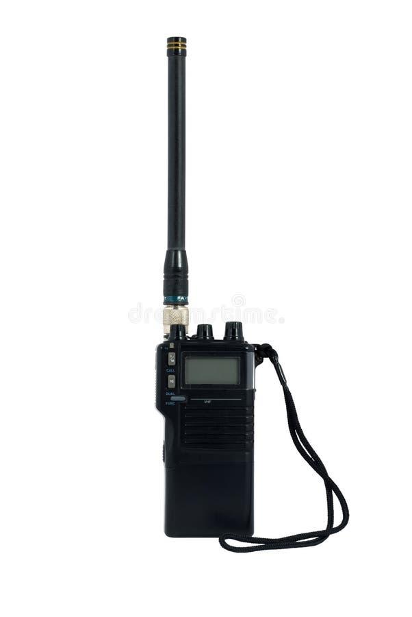 Transmisor-receptor de radio de mano fotos de archivo libres de regalías