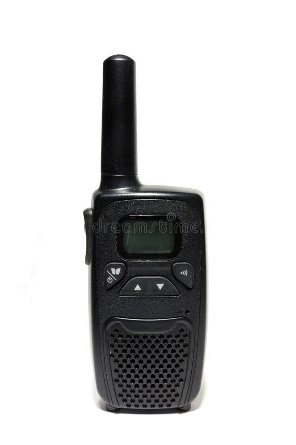 Transmisor-receptor del PDA Walkietalkie imagen de archivo libre de regalías
