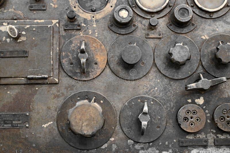 Transmisor-receptor militar fotografía de archivo