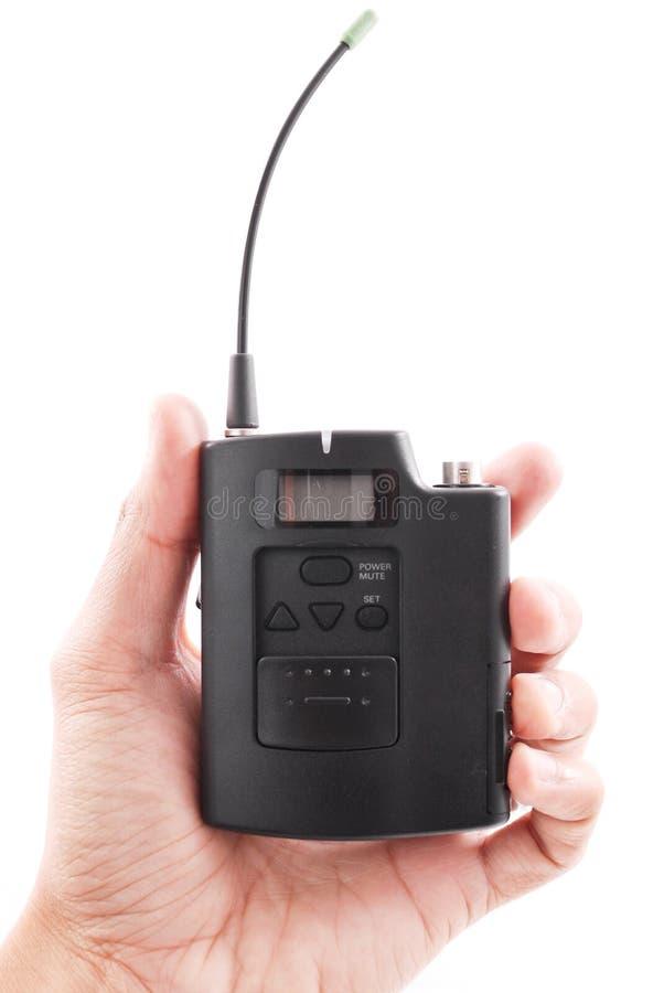 Transmisor sin hilos imagen de archivo