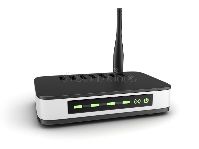 Transmisor Wi-Fi stock de ilustración
