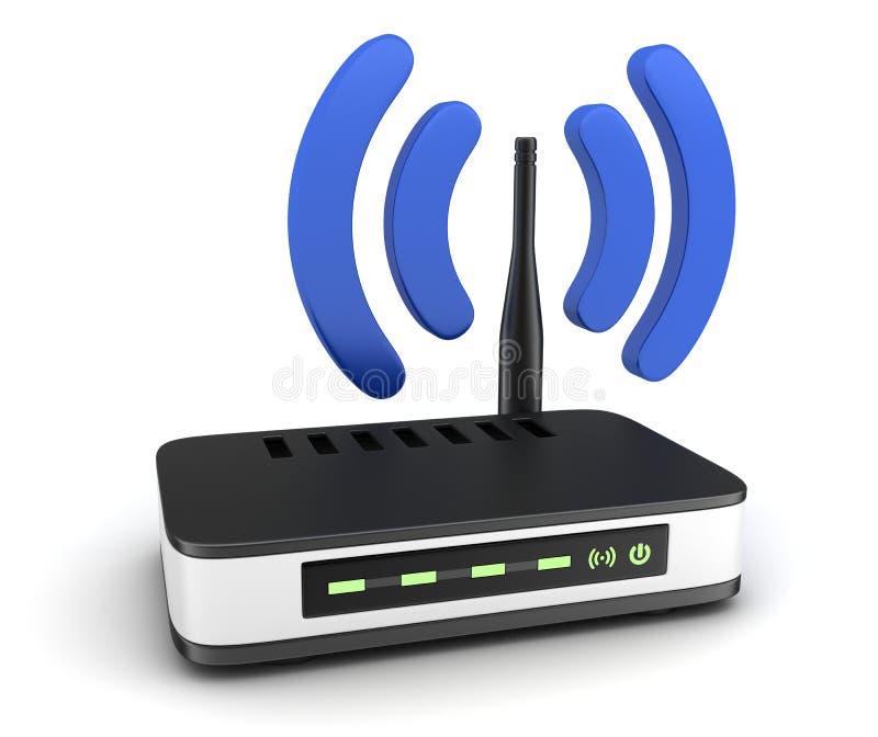Transmisor Wi-Fi ilustración del vector