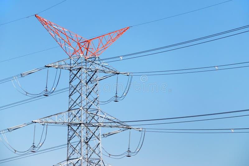 Download Linhas Da Distribuição Da Energia Imagem de Stock - Imagem de cabo, engenharia: 29835453
