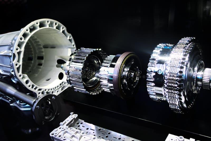 Transmission automatique de Mercedes image stock