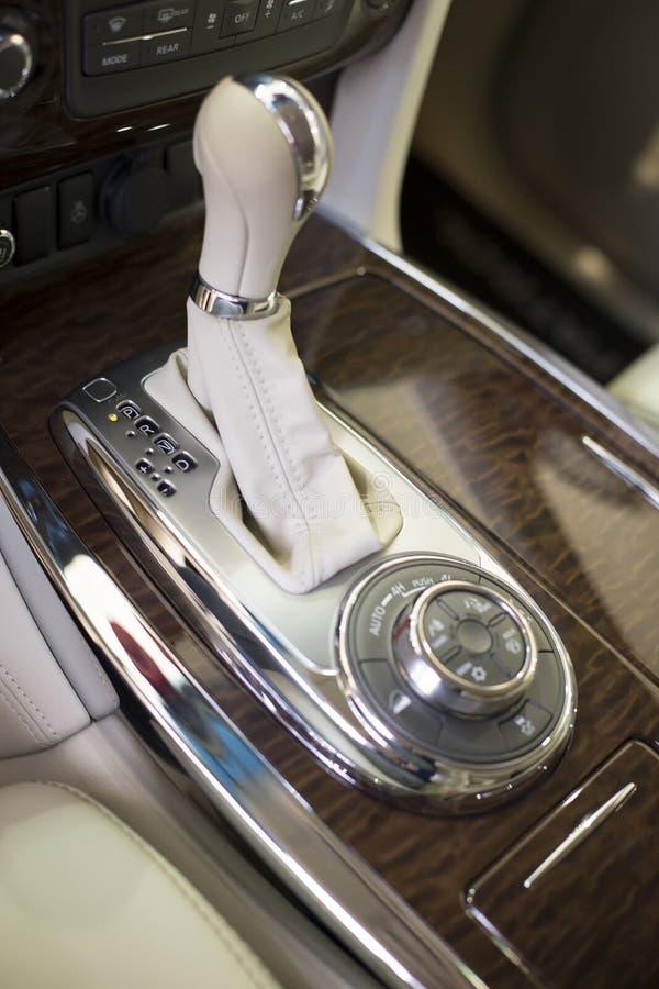 Transmission automatique de voiture image libre de droits