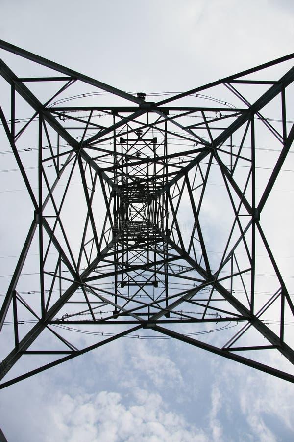 Transmission line stock photography