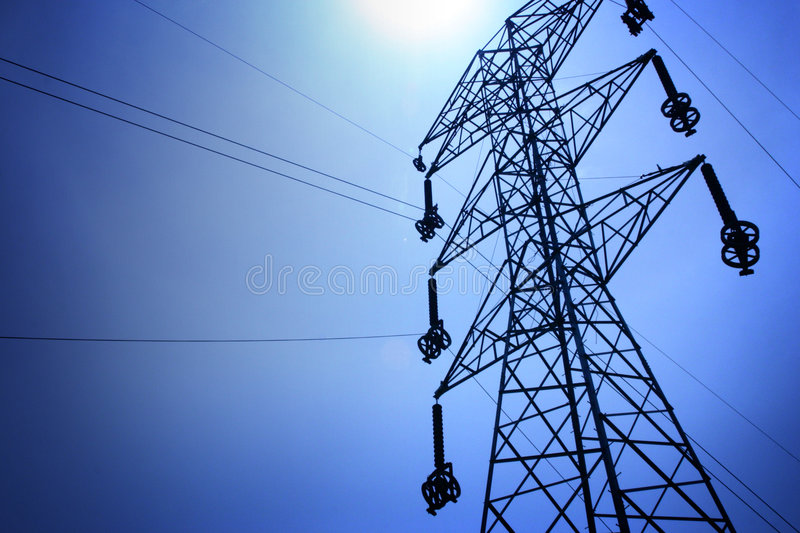 Transmission Line 3 royalty free stock photography