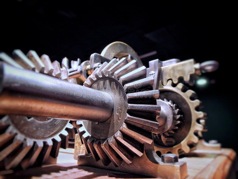 Transmission mécanique de boîte de vitesse image libre de droits