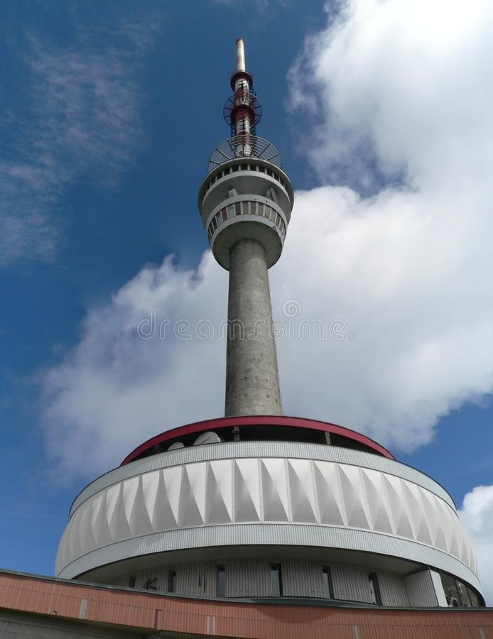 Download Transmission Tower On A Praded Stock Image - Image: 25762811