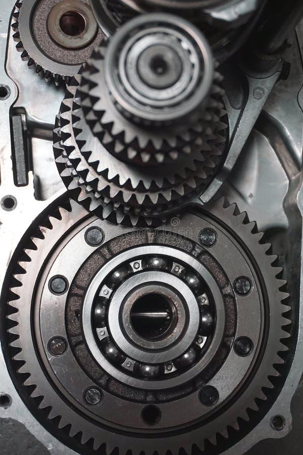 transmission Vitesses en métal photographie stock libre de droits