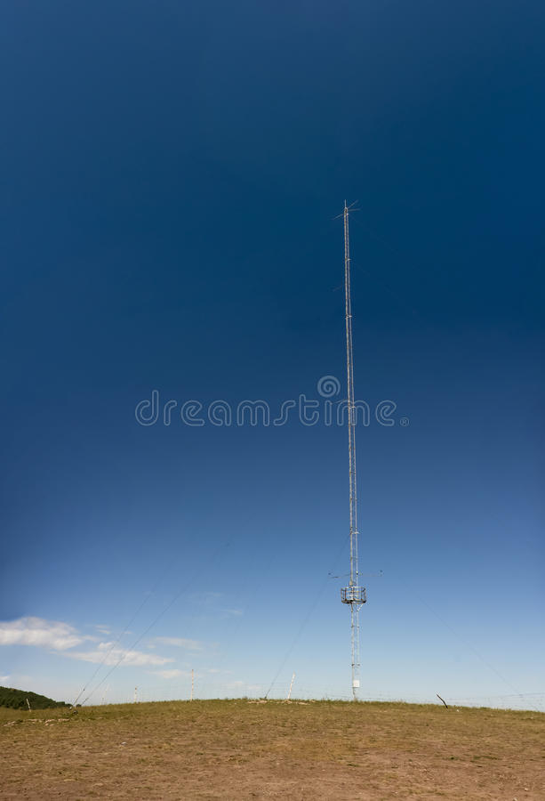 Download Transmitting antenna stock image. Image of connect, cellular - 21807945