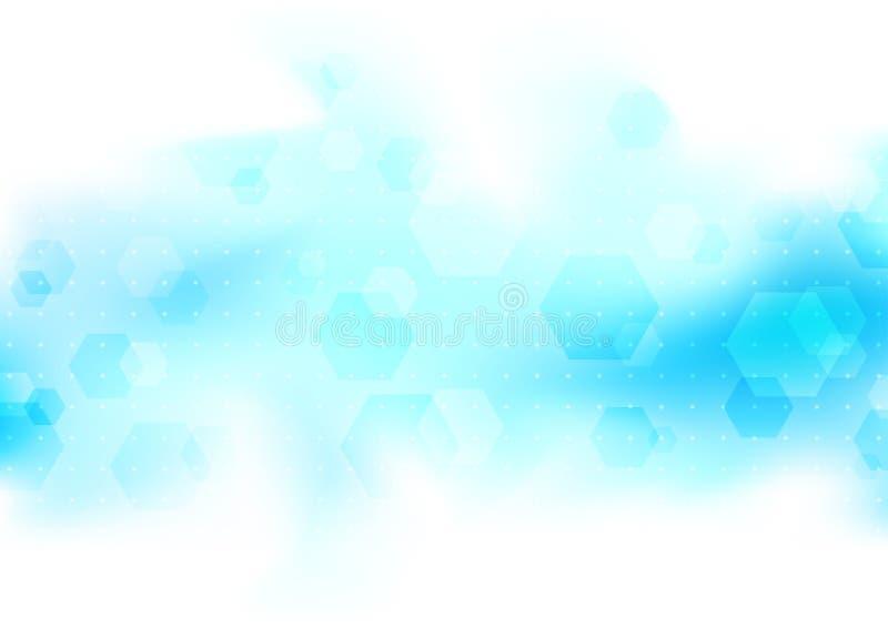 Transparant modern malplaatje als achtergrond stock illustratie