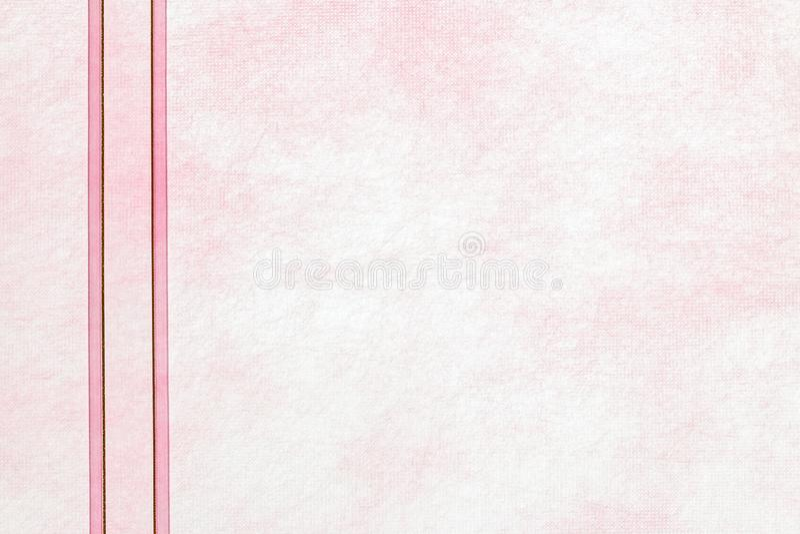 Transparante achtergrond van roze moerbeiboomdocument royalty-vrije stock foto