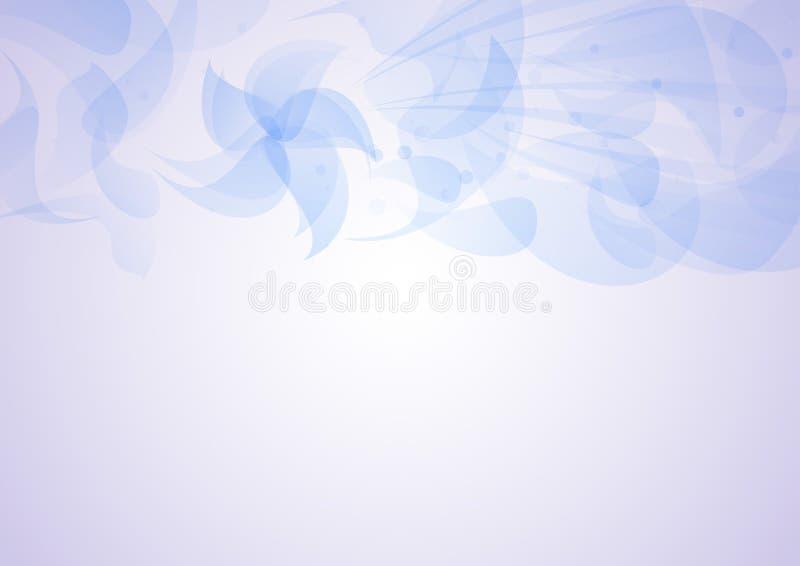 Transparante bloemenpatroonachtergrond vector illustratie
