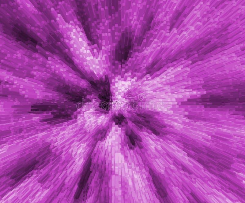 Transparante de deeltjes van de kubusvorm 3d bacground vector illustratie