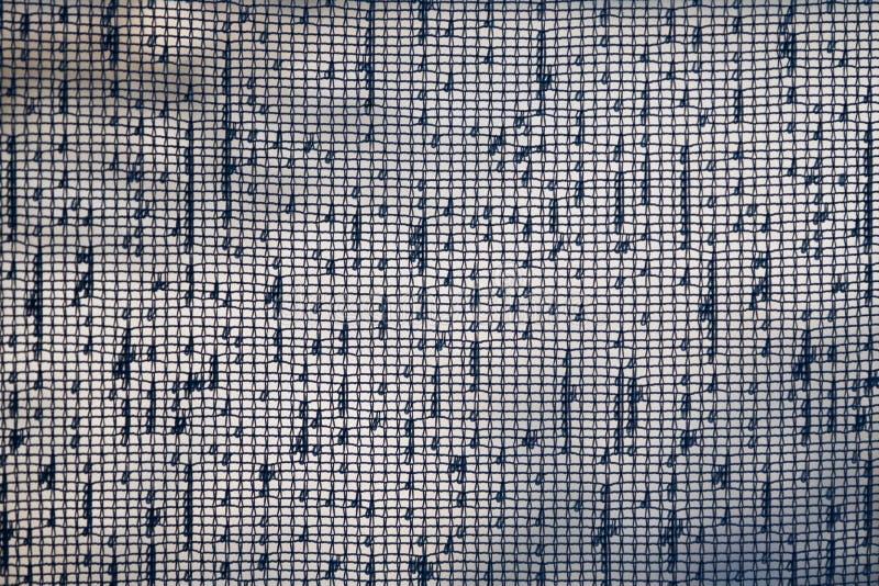 Transparante de oppervlaktetextuur van het stoffenrooster royalty-vrije stock afbeelding