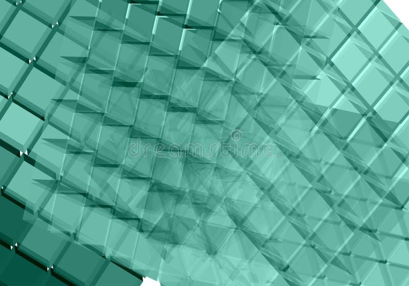 Transparante oppervlakten - vector vector illustratie