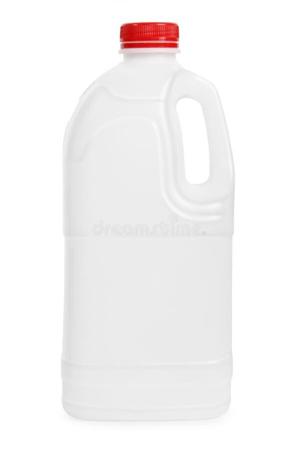 Transparante plastic gallon royalty-vrije stock afbeeldingen