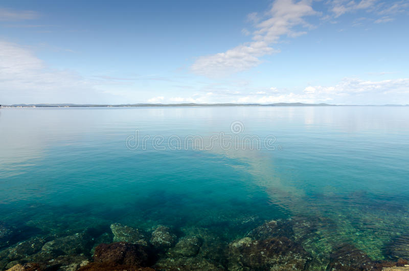 Download Transparent Adriatic Sea stock image. Image of zadar - 31794513